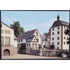 Открытка - Замок Кохберг с любительским театром. Германия