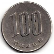100 йен 1973 Япония - 100 yen 1973 Japan, из оборота