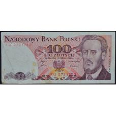 100 злотых 1986 Польша - 100 zloty 1986 Poland