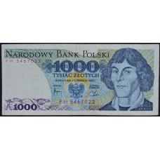 1000 злотых 1982 Польша - 1000 zloty 1982 Poland