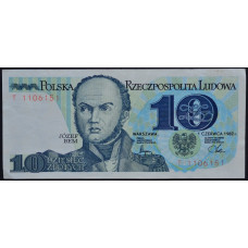 10 злотых 1982 Польша - 10 zloty 1982 Poland