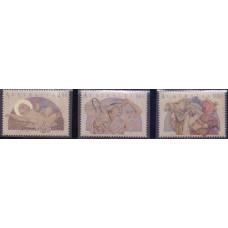 1991, ноябрь. Набор почтовых марок Австралии. Рождество