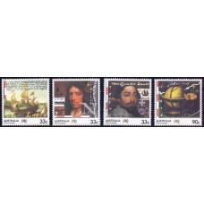 1985, апрель. Набор почтовых марок Австралии. 200-летие колонизации Австралии
