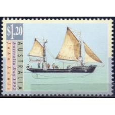 1992, январь. Почтовая марка Австралии. День Австралии. Парусники, 1.20$