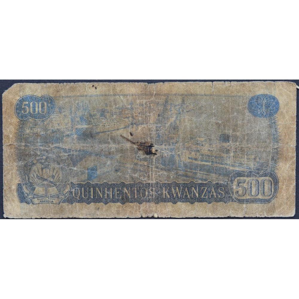 500 кванза 1975 Ангола - 500 kwanzas 1975 Angola