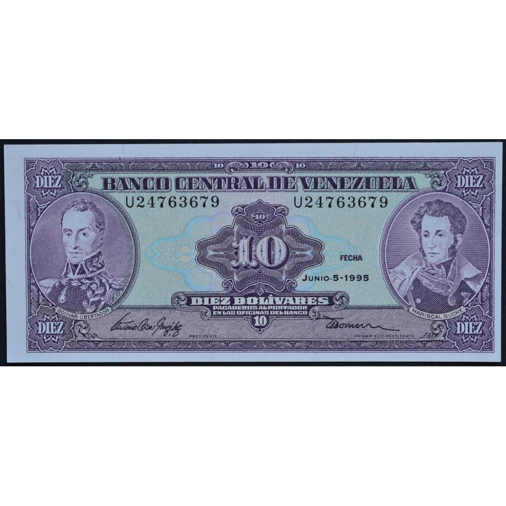 10 боливар 1995 Венесуэла - 10 Bolivares 1995 Venezuela