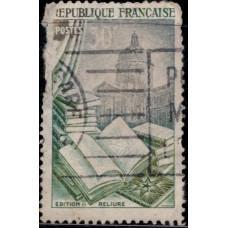 1954, май. Почтовая марка Франции. Искусство, 30Fr