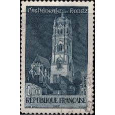1967, июнь. Почтовая марка Франции. Туристическая реклама, 1.00Fr