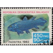 1982, декабрь. Почтовая марка Мадагаскара. Рыбы, 450Fr