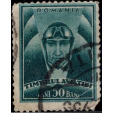 1932. Почтовая марка Румынии. Авиация, 50B