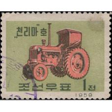 1959. Почтовая марка Северной Кореи (КНДР). Машиностроение, 1Ch