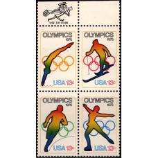 1976, июль. Квартблок США. Зимние и летние Олимпийские игры - Инсбрук, Австрия и Монреаль, Канада, 13C