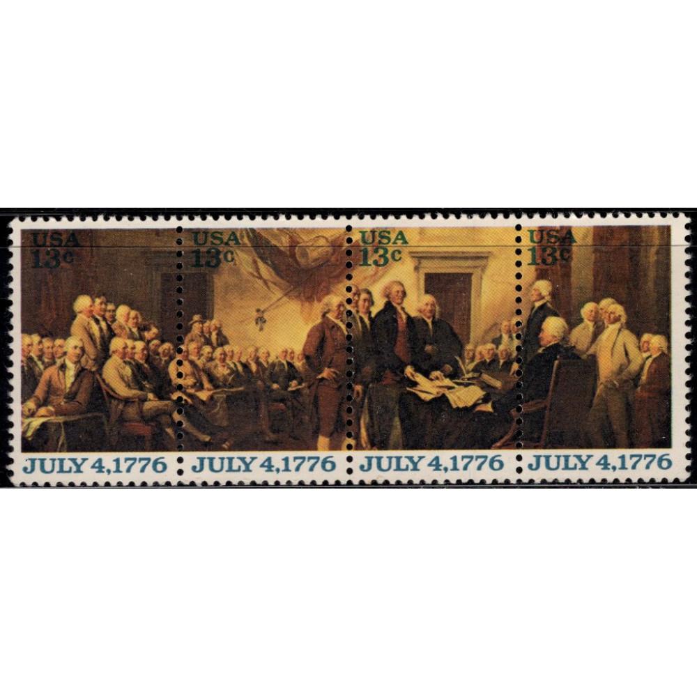 1976, июль. Квартблок США. Декларация независимости, 13C