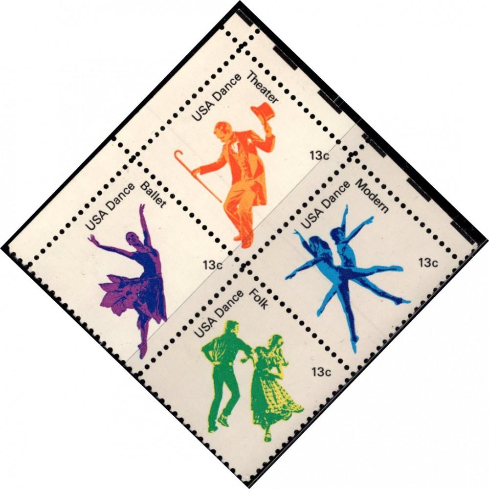 1978, апрель. Квартблок США. Американский танец, 13C