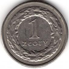 1 злотый 1994 Польша - 1 zloty 1994 Poland