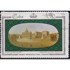 1971. Почтовая марка Кубы. Museo Metropolitano Havana. 30