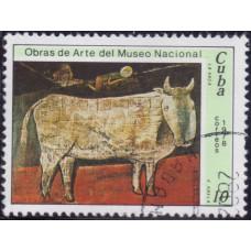1978. Почтовая марка Кубы. Obras de Arte del Museo Nacional, 10