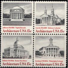 1979, июнь. Квартблок США. Американская архитектура, 15C