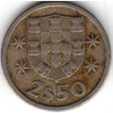 2.5 эскудо 1965 Португалия - 2.5 escudo 1965 Portugal