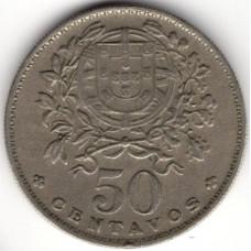 50 сентаво 1965 Португалия - 50 centavos 1965 Portugal