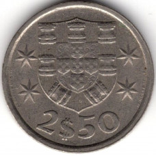 2.5 эскудо 1980 Португалия - 2.5 escudo 1980 Portugal