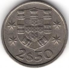 2.5 эскудо 1984 Португалия - 2.5 escudo 1984 Portugal
