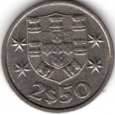 2.5 эскудо 1985 Португалия - 2.5 escudo 1985 Portugal