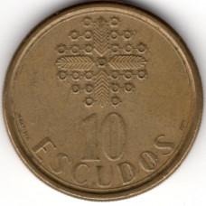 10 эскудо 1986 Португалия - 10 escudos 1986 Portugal
