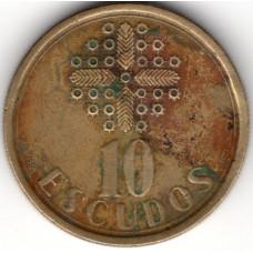 10 эскудо 1988 Португалия - 10 escudos 1988 Portugal