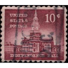 1954 -1973. Почтовая марка США. Выпуск Liberty, 10 центов