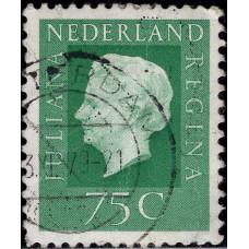 1972. Почтовая марка Нидерландов. Королева Juliana, 75С