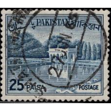 1965. Почтовая марка Пакистана. Местные мотивы, 25P