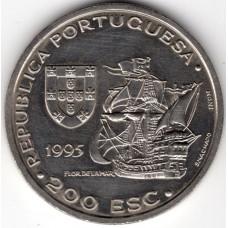 200 эскудо 1995 Португалия - 200 escudos 1995 Portugal