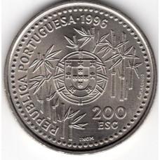 200 эскудо 1996 Португалия - 200 escudos 1996 Portugal