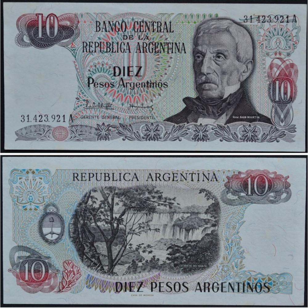 10 Pesos Argentina - 10 Песо Аргентина