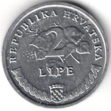2 липы 1993 Хорватия - 2 lipe 1993 Croatia