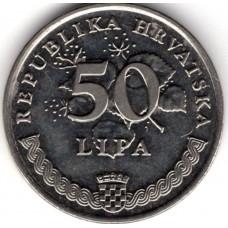50 лип 1993 Хорватия - 50 lipa 1993 Croatia