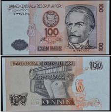 100 Инти 1987 Перу - 100 Intis 1987 Peru