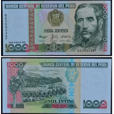 1000 Инти 1988 Перу - 1000 Intis 1988 Peru