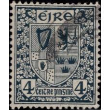 1922-1923. Почтовая марка Ирландии. Новая ежедневная марка, 4P