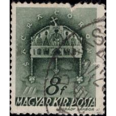1941. Почтовая марка Венгрии. Церковь в Венгрии, 8f