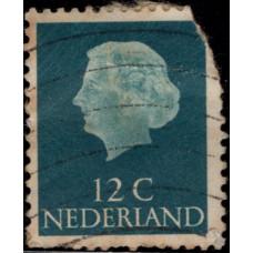 1954. Почтовая марка Нидерландов. Королева Juliana, 12С