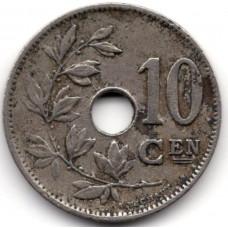 10 сантимов 1929 Бельгия - 10 centimes 1929 Belgium