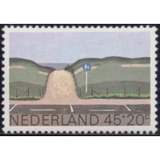 1980, апрель. Почтовая марка Нидерландов. Благотворительность, 45+20С