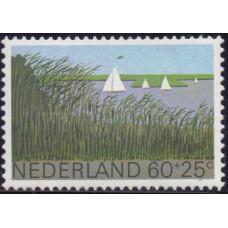 1980, апрель. Почтовая марка Нидерландов. Благотворительность, 60+25С