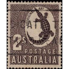 1948-1950. Почтовая марка Австралии. Австралия, 2Sh