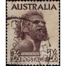 1952, март. Почтовая марка Австралии. Стандартный выпуск, 2´6Sh´P