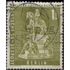 1956, июнь. Почтовая марка Германии, Берлин. Достопримечательности, 1DM