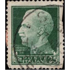 1929, апрель. Почтовая марка Италии. Серия Империал, 25C