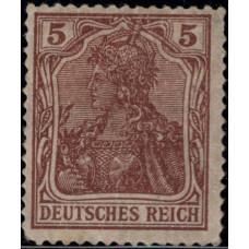 1920. Почтовая марка Германской империи, Германский Рейх. Германия, 5Pfg